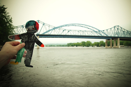 flat stanley tours the driftless region. III.