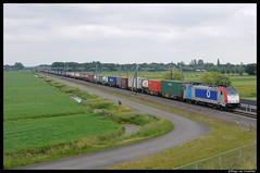 Metrans 186 182 (Hugeau) Tags: holland train nederland cargo route trein treni goederen betuwe betuweroute goederentrein betuwelinie