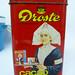 vintage cocoa tin
