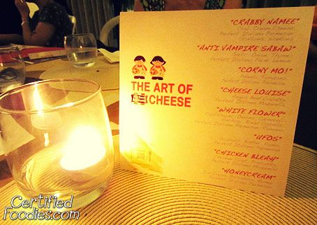 The second Perfect Italiano's Mystery Dinner theme was The Art of Cheese - CertifiedFoodies.com