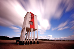 10 stopper light house (sean el Presidente) Tags: uk light house canon seaside rust sigma windy newport hdr dayout burnhamonsea cameraclub seandavies 10stopper