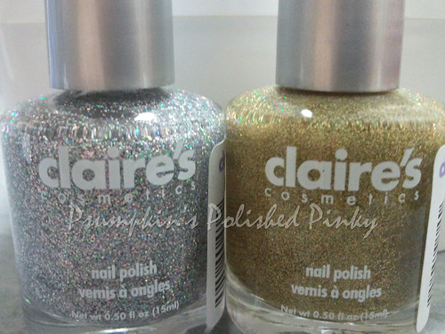 Claire's Glitter Topcoats