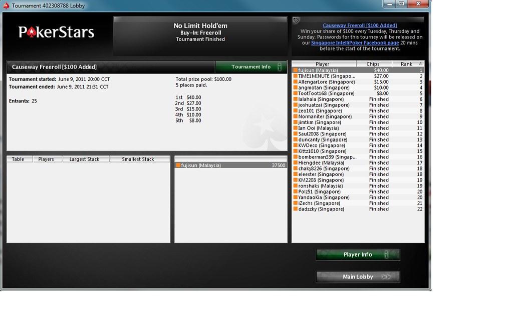 pokerstars casino forum