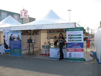 English Study Centre at the Educational Fair