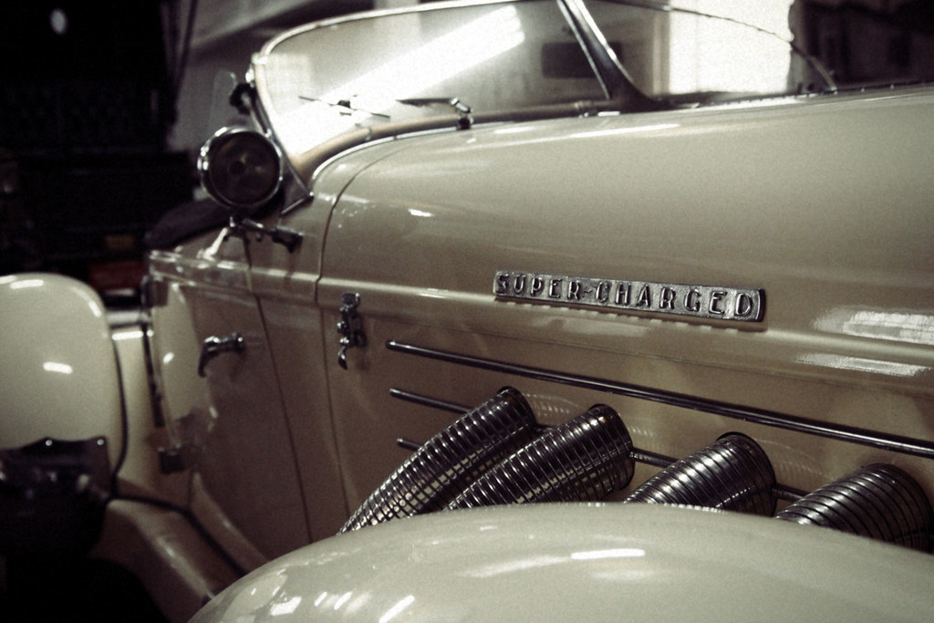 """1936/37 Auburn Speedster SUPER-CHARGED, so-called """"boattail"""" (replica)"""