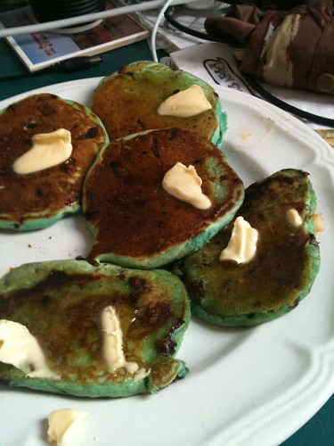 Day 170 - Green Banana Choc Chip Pikelets by dragonsinger