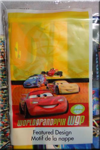 Cars 2 Tablecloth