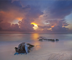 "I call this one, ""Seascape with log and rocks"" ;-) (Stuart Stevenson) Tags: seascape sunrise photography dawn scotland earlymorning jamaica tropical storms ochorios caribbeansea clydevalley stuartstevenson neverthatfaraway lighteninggoingonintheclouds lastyearssummerholiday wassavingthisoneforarainyday"