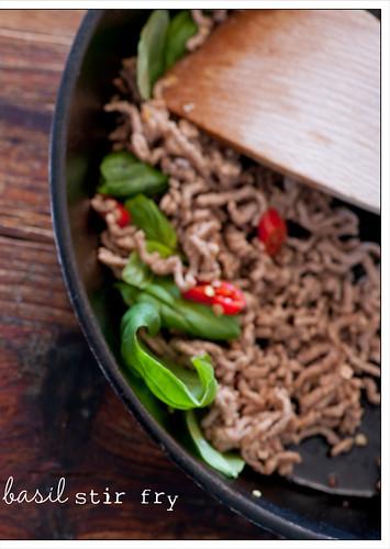 stir fry of chicken & basil recipe6