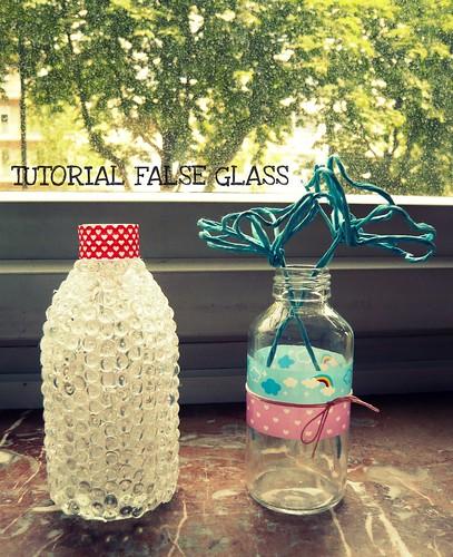 TUTORIAL FALSE GLASS