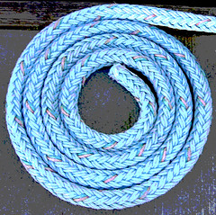 Posterized coil of rope_IMG_0201_edited-1 (silverback photo) Tags: posterized