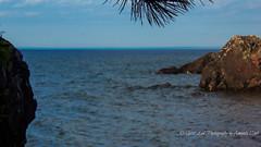 Wide Blue Yonder (1 of 1) (amndcook) Tags: hunterspoint keweenaw landscape michigan outdoors water copperharbor greatlakes lakesuperior nature pine rocks shoreline tree upperpeninsula