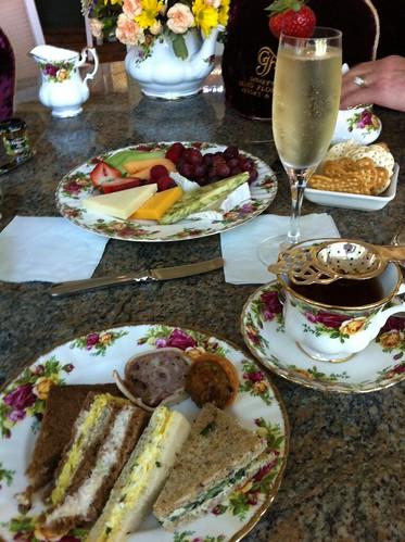 Afternoon tea reception british tea party bridal shower pinterest