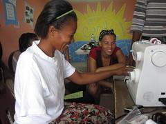 louphine (Mission of Hope Haiti) Tags: haiti earthquake employment job amputee prosthetic missionofhope 3cords mohhaiti