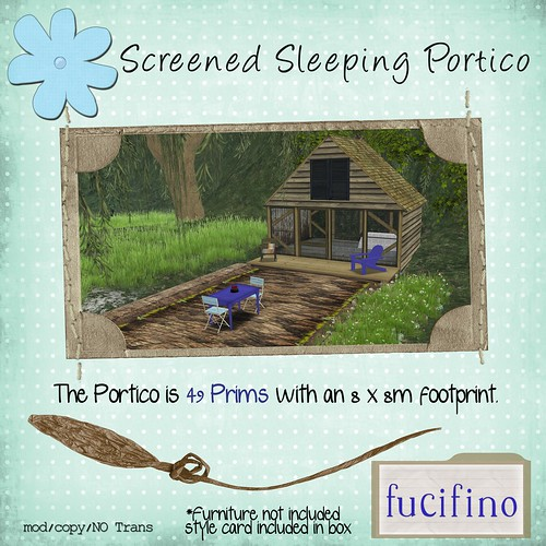 fucifino - Screened Sleeping Portico