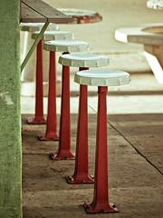 Stools (jaxxon) Tags: macro bar vintage lens outdoors prime restaurant nikon outdoor coke micro fixed 28 mm nikkor stools f28 myfave vr kitch afs bottlecaps inarow 105mm 105mmf28 d90 nikor f28g gvr jaxxon jackcarson multifarious 105mmf28gvrmicro nikond90 nikkor105mmf28gvrmicro desklickr nikon105mmf28gvrmicro jacksoncarson jacksondcarson