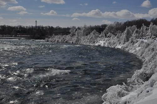 Niagara Falls -- above the falls