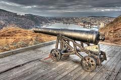 Cannon (gwhiteway) Tags: canada texture canon newfoundland paint gun hill stjohns cannon signal hdr daubs hdraddicted hdraward mygearandme