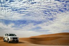 TOYOTA Land Cruiser (TARIQ-M) Tags: sky cloud texture car landscape sand waves desert dunes toyota saudiarabia hdr  canonefs1855         canon400d           100606169424624226321postsnajd12sa