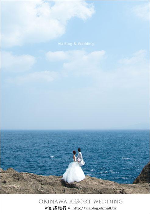 【沖繩旅遊】浪漫至極!Via的沖繩婚紗拍攝體驗全記錄!29