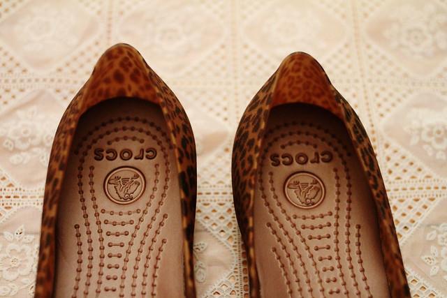 Leopard Print Crocs
