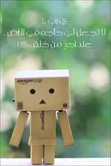 Danbo   دانبو (Lulu Abdulaziz   لولو عبدالعزيز) Tags: danbo حزين حيّ يَ امازون دانبو قيومَ