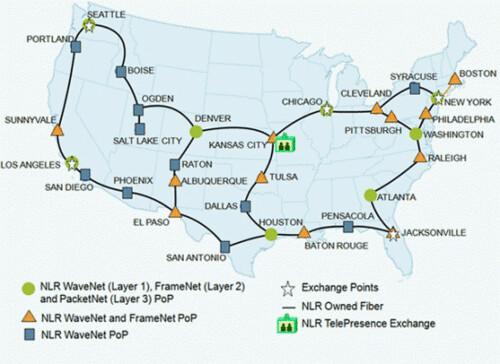 Kansas City Wins Google Fiber Dailywirelessorg - Us fiber optic network map