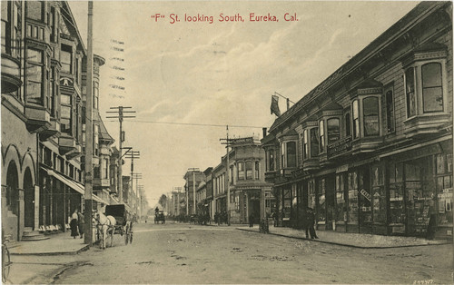 ''F'' St. looking South, Eureka, Cal[?] by Bob Doran, on Flickr