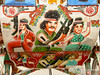 Bollywood Action on Back of Bicycle Rickshaw - Rajshahi, Bangladesh (uncorneredmarket) Tags: transport bollywood rickshaw bangladesh rickshawart rajshahi