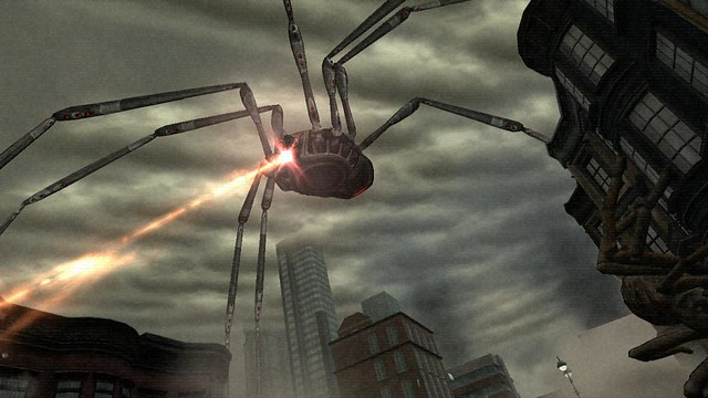 Earth Defense Force: Insect Armageddon for PS3: Daddy Long Legs