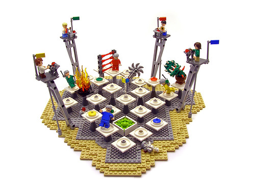 Custom minifig Doomscape: A Place For Kids!