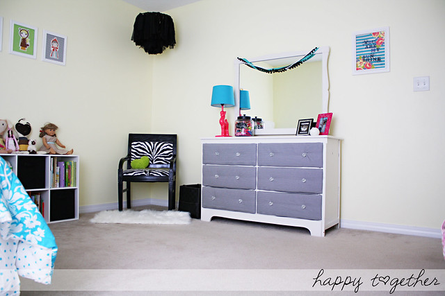 Big Girl Room Makeover