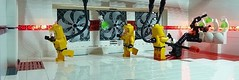 Health and safety (Legoagogo) Tags: lego 4 series minifig hazmat moc afol
