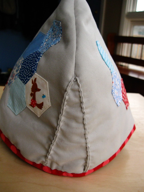 tea cozy gusset handsewing