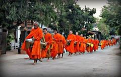 Laos - Febbraio 2011-Explore - Apr 4, 2011 #487 (anton.it) Tags: laos viaggio luangprabang arancione cerimonia monaci platinumheartaward takbat canong10 antonit virgiliocompany mygearandme mygearandmepremium