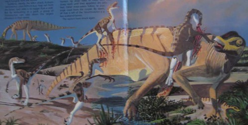 Raptors! The Nastiest Dinosaurs - Page 4/5 Painting by Dave Peters