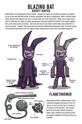 Blazing Bat