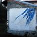 [senza titolo]; 1992. Acrilico su muro, cm 200x240.<br /> Maglione, Via Castello.<br />