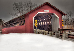 Paper Mill Covered Bridge (Lisa Uvanni Gordon) Tags: vermont coveredbridge 1001nights regents papermill 2gs keepyoureyesopen yourpreferredpicture tatot lomejordemisamigos treasuresofkeepyoureyesopen artwithpassion