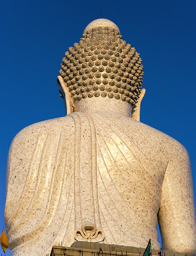 Big Buddha at Sunset