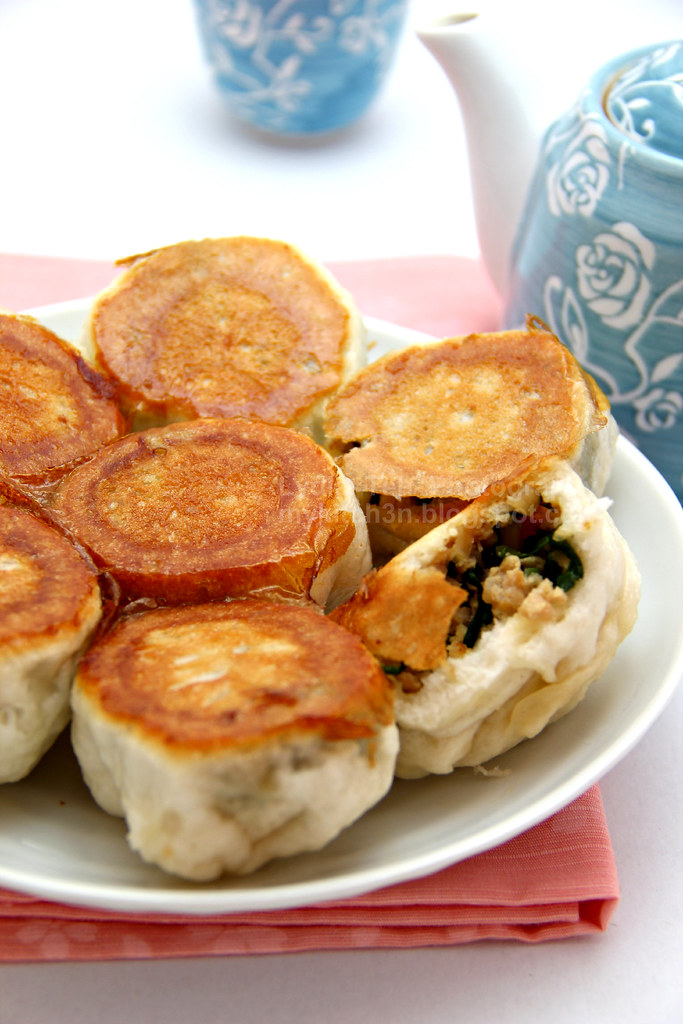 Pan-Fried Bun (水煎包)
