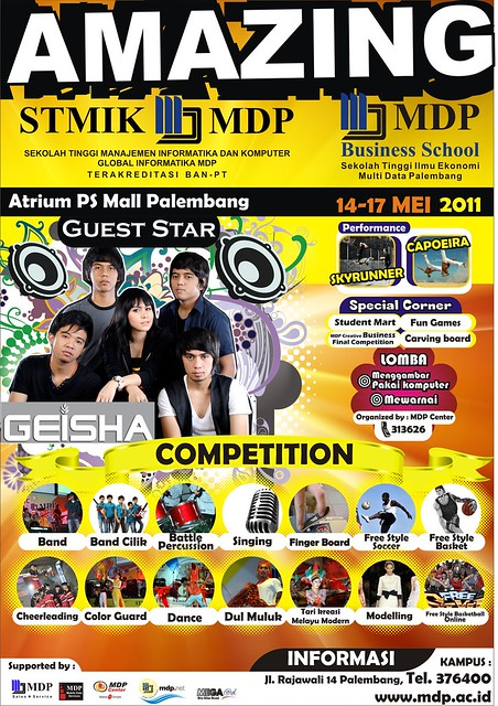 Amazing STMIK MDP & MDP Business School @ Atrium PS Mall Palembang