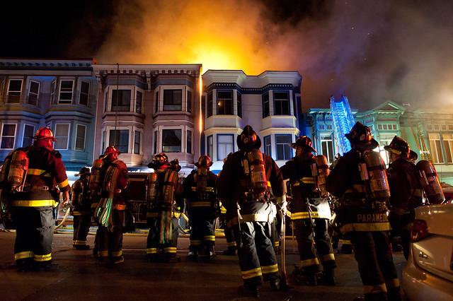 Mission Street Fire