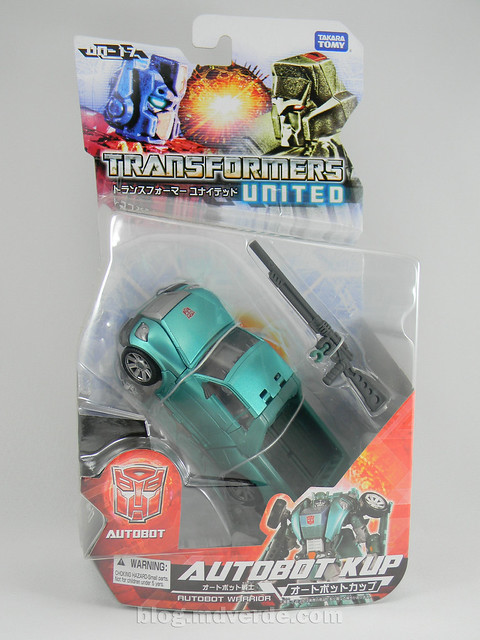 Transformers Kup United Deluxe - caja