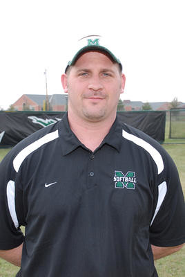 Mason High School football coach Brian Castner