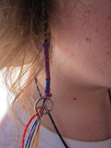 Amy's peace braid