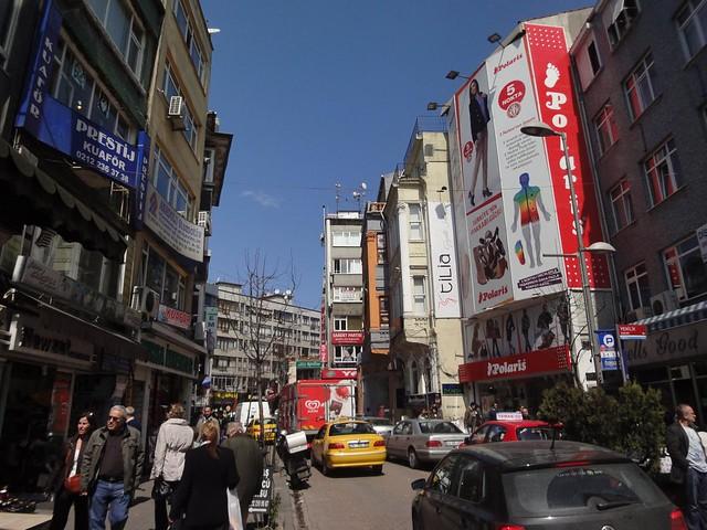 Fotografia de Carsi Besiktas Istambul Turquia