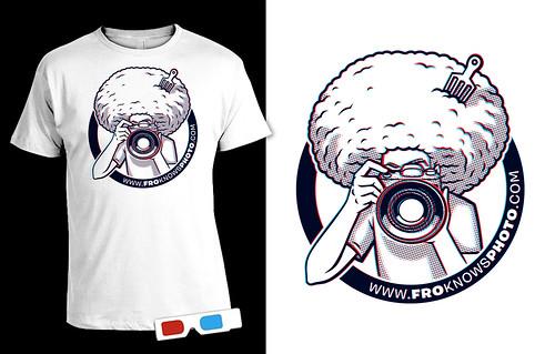 FroKnowsPhoto 3D Logo Shirt