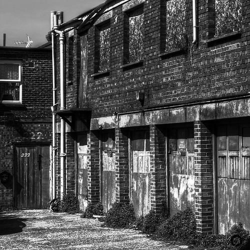 99/365 Abandoned Portsmouth - Forgotten Garages