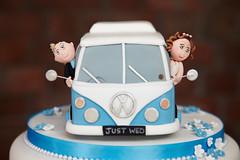 Cool Cake (ChrisBrookesPhotography.co.uk) Tags: wedding west cakes cake volkswagen shropshire photograph felton van camper chimes